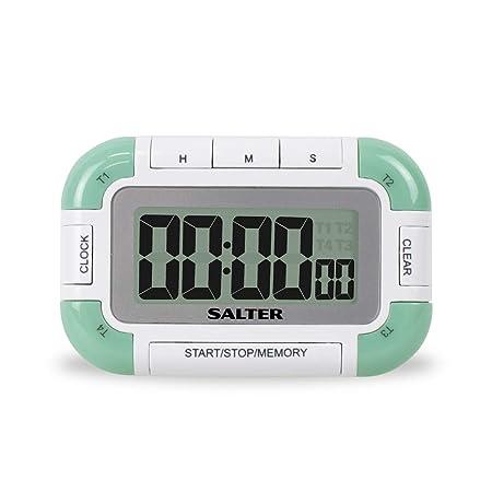 Compra Salter 392 Whxr Multi Timer Mit, Verde / Color Blanco, 12.9 ...
