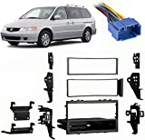 5124GbsFp5L._AC_UL160_SR160160_ amazon com stereo install dash kit honda odyssey 02 03 04 2004 Honda Stereo Wiring Diagram at bayanpartner.co