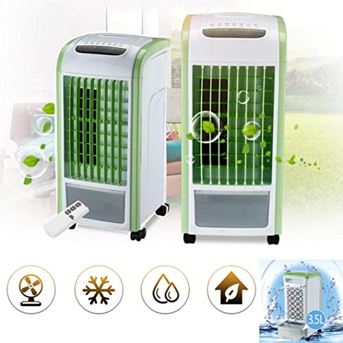 YLCOYO 4 in 1 Air Cooler Green Remote Control Fan Humidifier Air Freshener by YLCOYO