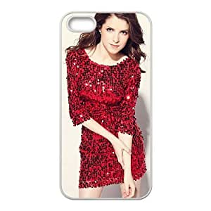 anna kendrick iPhone 4 4s Cell Phone Case White yyfD-295605