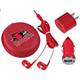 Southeast Missouri 3 in 1 Red Audio Travel Kit 'Official Logo'