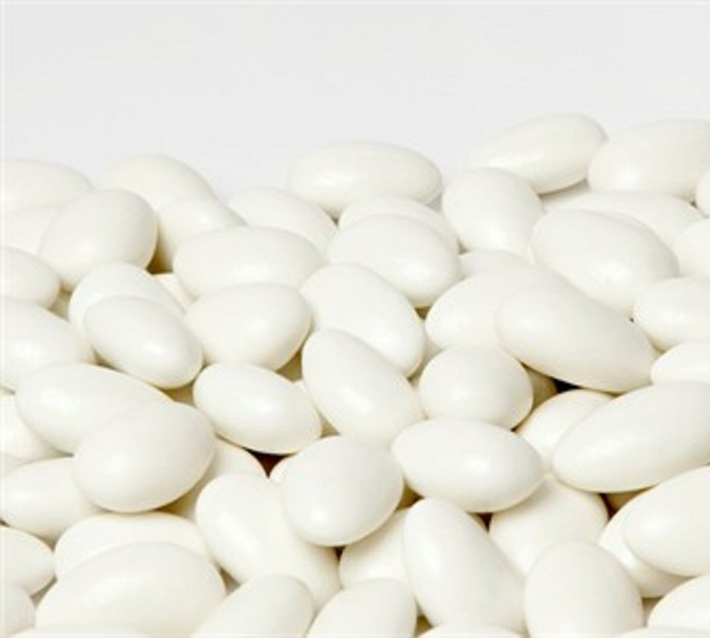 Amazon.com : Jordan Almonds by Its Delish (White, 5 lbs) : Grocery ...