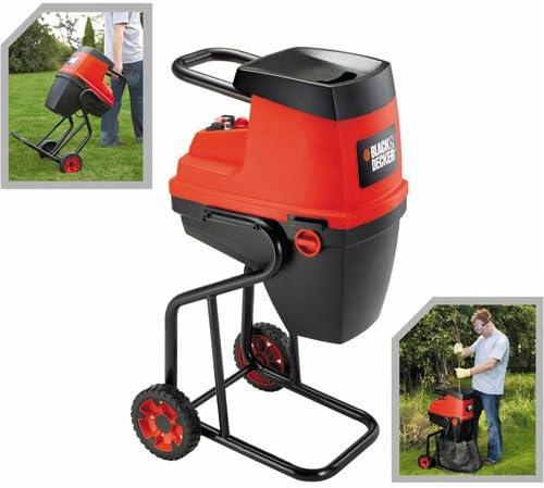 Black+Decker Biotriturador eléctrico B&D GS 2400 triturador de jardín: Amazon.es: Jardín
