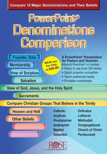 Denominations Comparison (PowerPoint Presentation) (Denominations Comparison Chart)