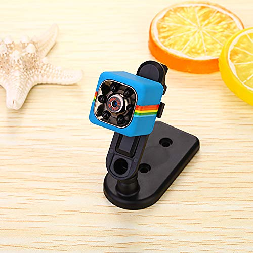 Spy Camera,Best4UrLife Hidden Camera Mini Wireless 1080P/720P Sports Action Cam with Night Vision Motion Detection for Home,Car,Drone,Office Indoor Outdoor Security (BlueC(With 16GB TF Card))
