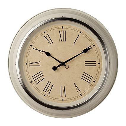 IKEA SKOVEL - Reloj de pared, de color beige - 35 cm