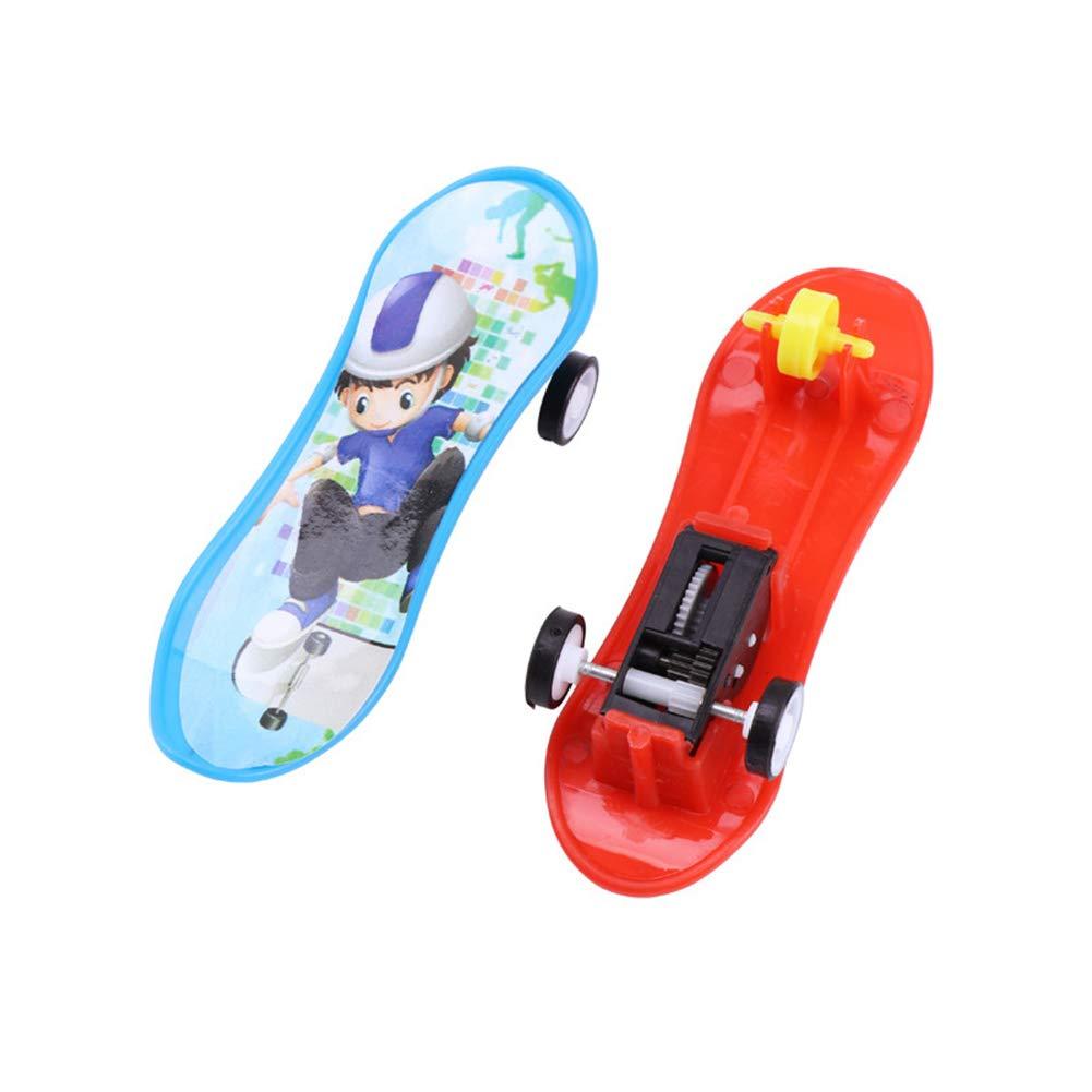 BrawljRORty Toy Cars, Professional Finger Skateboard Educational Kids Gift Mini Plastic Board Toy