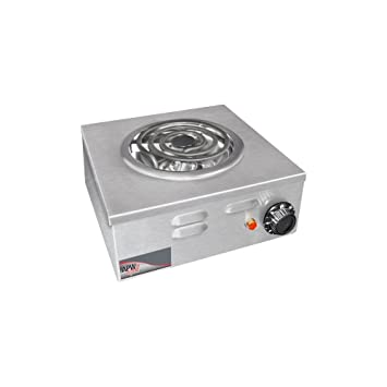 APW Wyott Porta Stove Electric Portable Hot Plate, 7.125 X 12.75 X 12.75  Inch