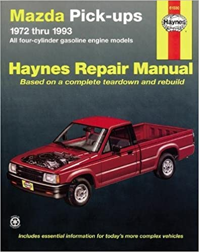Mazda pickups 1972 1993 all gasoline engine models haynes repair mazda pickups 1972 1993 all gasoline engine models haynes repair manuals 1st edition fandeluxe Image collections