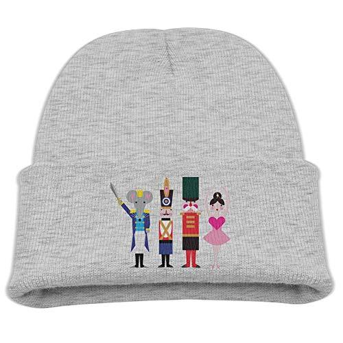 Figurine Nutcracker Ballet Baby Beanie Hat Toddler Winter Warm Knit Woolen Watch Cap for Kids ()
