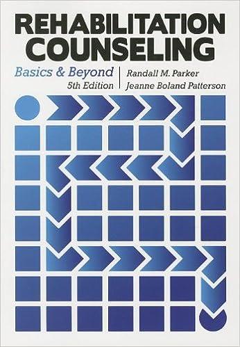 Amazon Rehabilitation Counseling Basics And Beyond
