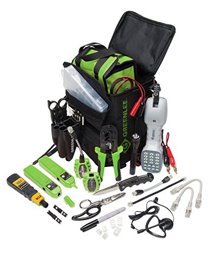 Greenlee  4938 Telco Technician Tool Kit by Greenlee Textron