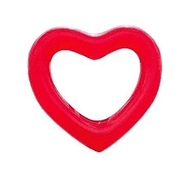 Hunpta@ Anillo hinchable grande con forma de corazón para natación ...