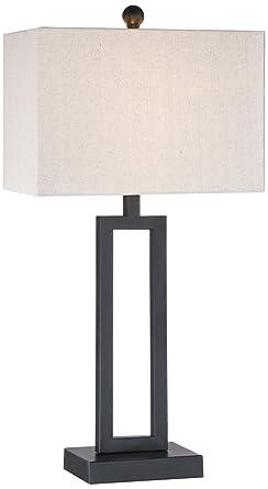 Aston black modern table lamp amazon aston black modern table lamp mozeypictures Choice Image
