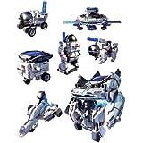 ItsImagical - 7 x 1 Eco-Space, Kit para construir robot solares (Imaginarium 67011)