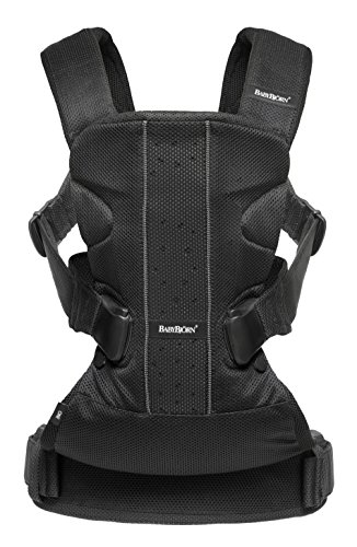 BABYBJ RN Baby Carrier One Air, Mesh, Black