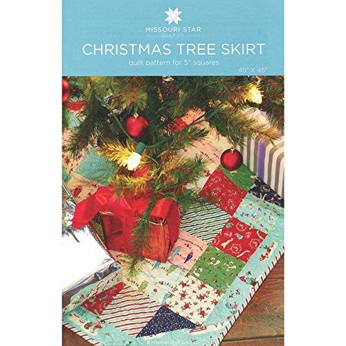 Christmas Tree Skirt Quilt - Missouri Star Quilt CO - Christmas Tree Skirt Pattern