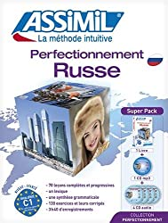 Superpack Perfectionnement Russe (livre+4CD audio+1CD mp3)