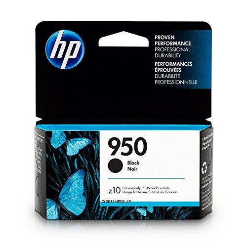HP 950 Black Original Ink Cartridge For HP Officejet Pro 251dw, 276dw, 8100, 8600,8610, 8615, 8620, 8625, 8630