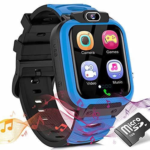 Kids Smart Watch for Boys Girls, Child Smartwatches for Kids Educational, HD Touch Screen Phone Watch Birthday Gifts for…