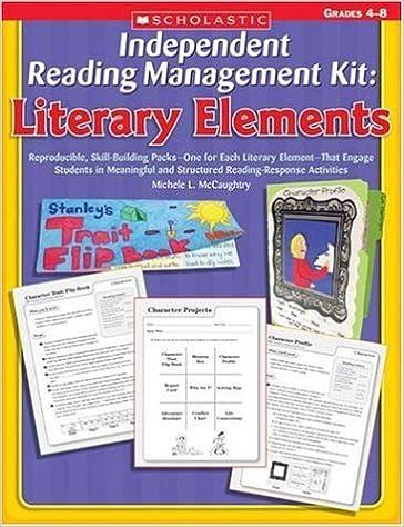 Amazoncom Independent Reading Management Kit Literary Elements