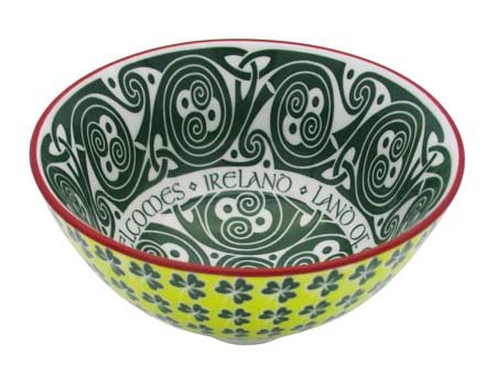 Royal Tara Irish Celtic Bowl with Hundred Thousand Welcomes Design 11cm ()