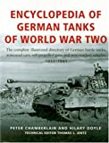 Encyclopedia of German Tanks of World War Two, Peter Chamberlain and Hilary Doyle, 1854095188