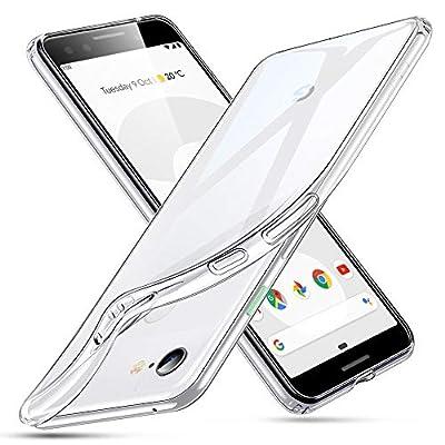 ESR Essential Zero Case Compatible Google Pixel 3, Slim Clear Soft TPU Cover, Clear