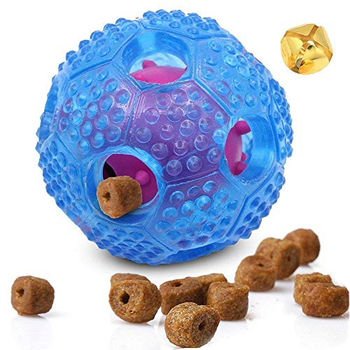 Mihachi Dog Toy Balls - Food Dispensing IQ Treat Ball with B