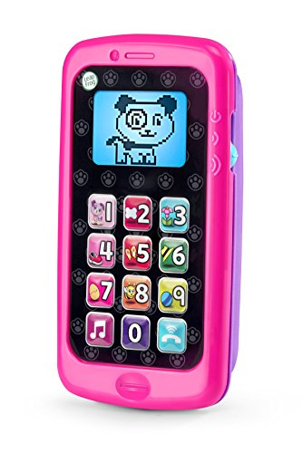 5124MmhU8XL - LeapFrog Chat And Count Smart Phone, Violet