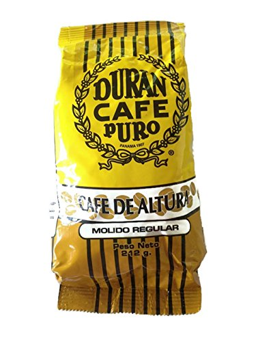 Amazon.com : Best Panama Coffee Cafe Duran Cafe De Altura Molido Regular 1 Pound Freshly Imported Best Quality Coffee From the Highlands of Chiriqui ...