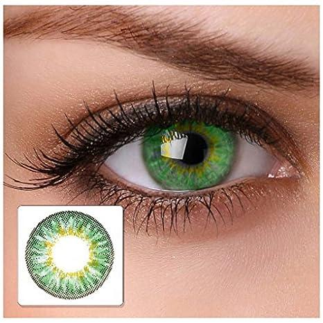 2370ba093f Lentillas de colores verde - sin graduación - cool green - para ojos claros  & oscuros