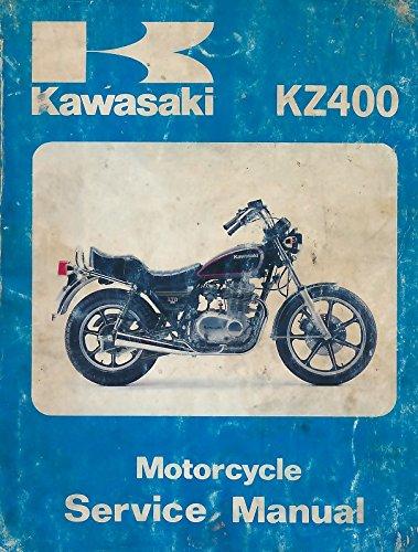 Kawasaki Motorcycle Service Manual KZ400