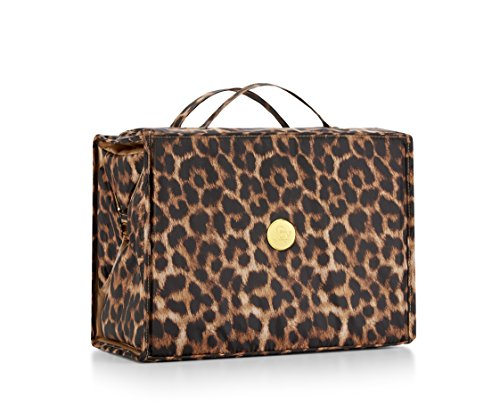 Joy Mangano Extra Large Better Beauty Case, Leopard, x