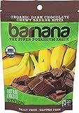 #3: Barnana Organic Chewy Banana Bites, Dark Chocolate, 3.5 Ounce