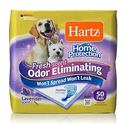 Hartz Home Protection Odor Eliminating Dog Pads from Hartz