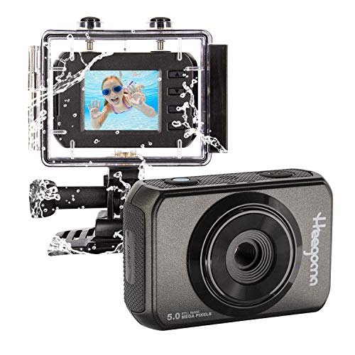 Kids Camera, Heegomn Kids Action Camera Waterproof Video Digital Children Cam HD Sports Camera Camcorder for Boys Girls Gift