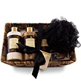 Camille Beckman Essentials Gift Basket, Oriental Spice, Glycerine Hand Therapy 6 oz, Silky Body Cream 13 oz, Hand and Shower Cleansing Gel 13 oz, Glycerine Soap 3.5 oz Review