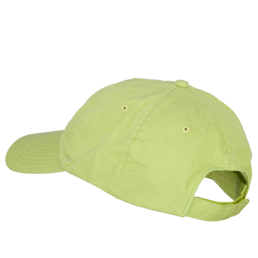 6b0bc2714b0 MG Low Profile Dyed Cotton Twill Cap - Apple Green OSFM at Amazon Men s  Clothing store  Baseball Caps