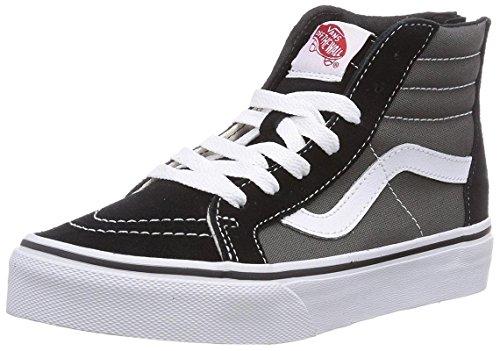 Vans Kids' Sk8-Hi Zip-K Black/Charcoal