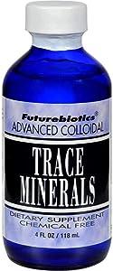 Futurebiotics Trace Minerals Advanced Colloidal USDA Certified Organic, 4 oz