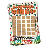 30 Pack Baby Shower Game | Scratch Off Lottery Cards Baby Bottle Bingo | Sprinkle Games