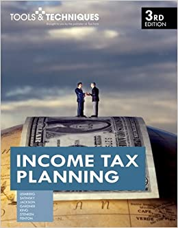 Book By Stephan R. Leimberg - Tools & Techniques of Income Tax Planning (3rd Edition) (2009-04-16)