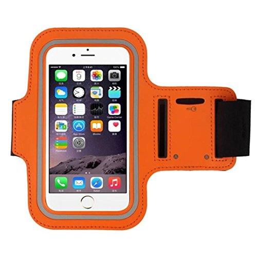 Cell Phone Armband Sports Arm Bag Holder Fitness Strap Exercise Band Jogging Case Arm Band For iPhone 6 Plus, Samsung Galaxy S6 S7 Edge J7, Note 5 4 3, LG G5 G4 G3, Moto G4 Plus, Moto Z (5.5 inches)