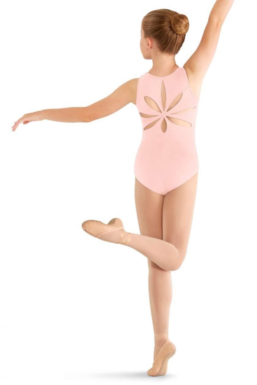 Mirella Girls Flower Back Dance Tank Leotard Bloch Dance M413C-P