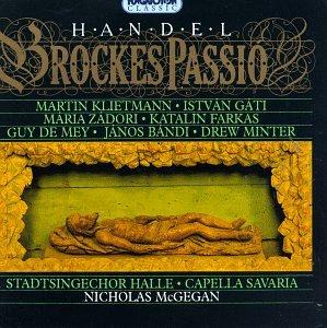 Low price Handel - A surprise price is realized Brockes Passion Klietmann · Zádori Gati
