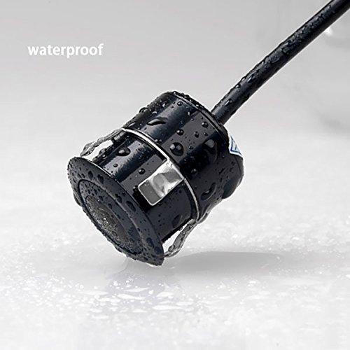 - Universal HD Car Front View Camera Parking Reverse Camera Kit Waterproof CMOS