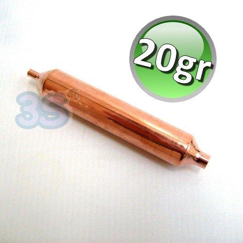 Filtro disidratatore 20 gr. molecolare in rame - per circuito frigo KONOR
