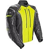 Joe Rocket Atomic Men's 5.0 Textile Motorcycle Jacket (Hi-Viz, Medium)