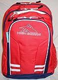 High Sierra Blaise Backpack with 15in. Laptop Pocket, Crimson/True Navy/White